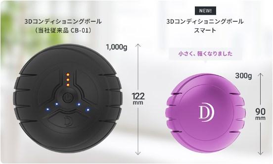 ドクターエア 3Dコンディショニングボール CB-01とスマート